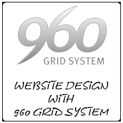 Website Design with 960 Grid System