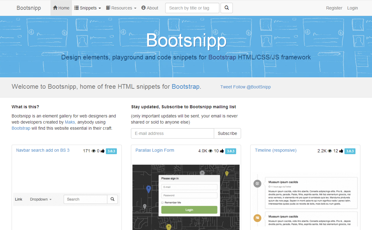 Bootsnip