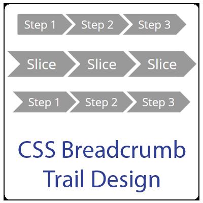 CSS Breadcrumb Trail Design