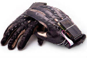 Gloves give voice to hand gestures