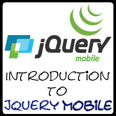 jQuery Mobile Tutorial